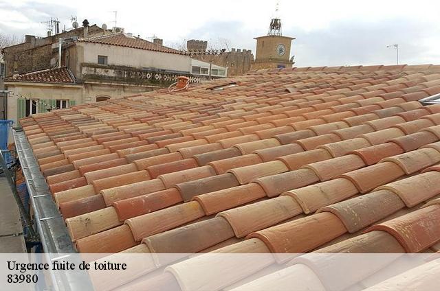 Réparation fuite de toiture à Le Lavandou tél:04.82.29.11.99