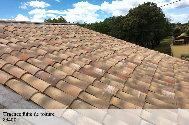 Réparation fuite de toiture à Les Salins D Hyeres tél:04.82.29.11.99